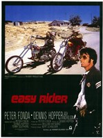 Easy Rider Motorcycle Bikers Fine-Art Print