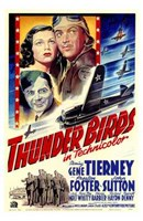 Thunder Birds Wall Poster