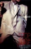 Stop Making Sense Wall Poster