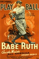Play Ball with Babe Ruth Fine-Art Print