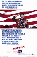 Patton - flag Wall Poster