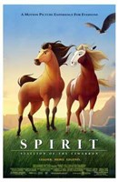 Spirit: Stallion of the Cimarron - cartoon Fine-Art Print