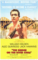 Bridge on the River Kwai William Holden Wall Poster