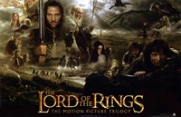 Lord of the Rings: Fellowship of the Ring Collage Fine-Art Print