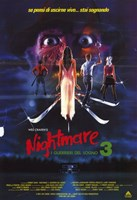 Nightmare on Elm Street 3: Dream Warrior Italian Wall Poster