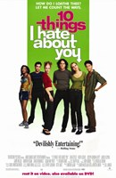 Ten Things I Hate About You Wall Poster