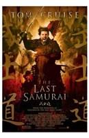 The Last Samurai Tom Cruise on Horseback Wall Poster