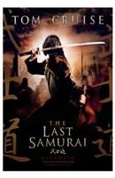 The Last Samurai Topm Cruise in Samurai Attire Wall Poster