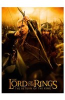 Lord of the Rings: Return of the King Legolas Fine-Art Print