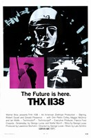 Thx-1138 - movie Wall Poster