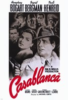 Casablanca Black and Red Fine-Art Print
