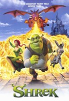 Shrek Wall Poster