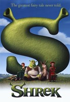 Shrek - The greatest fairy tale never told. Fine-Art Print