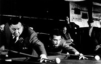 The Hustler Shooting Pool Fine-Art Print