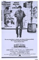 Taxi Driver Purple Fine-Art Print