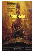 The Goonies - Scared Wall Poster