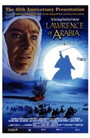 Lawrence of Arabia 40th Anniversary Wall Poster