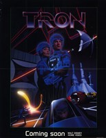 Tron Outer Space Wall Poster