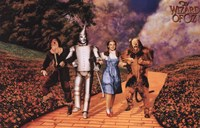 The Wizard of Oz - Skipping on Yellow Brick Road Fine-Art Print
