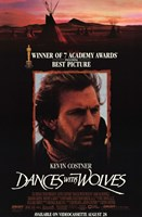 Dances with Wolves 7 Academy Awards Wall Poster