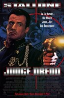 Judge Dredd Stallone Wall Poster