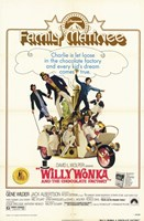 Willy Wonka and the Chocolate Factory - family matinee Wall Poster