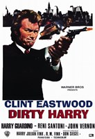 Dirty Harry Clint Eastwood Fine-Art Print