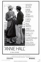 Annie Hall Woody Allen Diane Keaton Fine-Art Print
