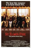 St Elmo's Fire Wall Poster