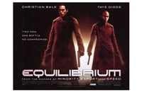 Equilibrium Christian Bale Wall Poster