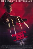 Freddy's Dead Final Nightmare Freddy Krueger Wall Poster