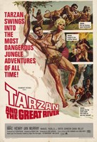 Tarzan and the Great River, c.1967 - style A Wall Poster