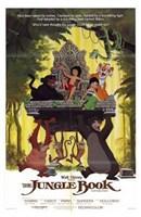 The Jungle Book Mowgli on Aztec Throne Fine-Art Print