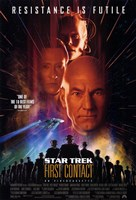 Star Trek: First Contact Fine-Art Print