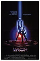 Tron Laser Wall Poster