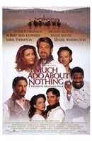 Much Ado About Nothing Emma Thompson Wall Poster