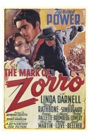 The Mark of Zorro Linda Darnell Wall Poster