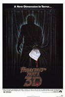 Friday the 13Th Part 3 Wall Poster