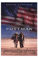 The Postman - American Flag Wall Poster