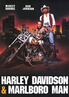 Harley Davidson and Marlboro Man Fine-Art Print