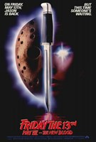 Friday the 13Th Part 7 - the New Blood Wall Poster