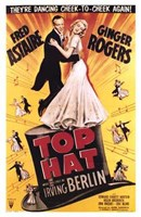Top Hat - dancing cheek to cheek Fine-Art Print