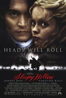 Sleepy Hollow Johnny Depp Wall Poster