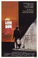 to Live and Die in La (movie poster) Fine-Art Print