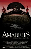 Amadeus The Man... The Music... Wall Poster