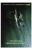 The Matrix Revolutions Morpheus & Trinity Wall Poster