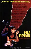 Pulp Fiction Definition Wall Poster
