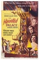 The Haunted Palace Wall Poster