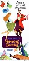 Sleeping Beauty Awaken to a World of Wonders Wall Poster