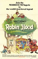 Robin Hood Cartoon Fine-Art Print